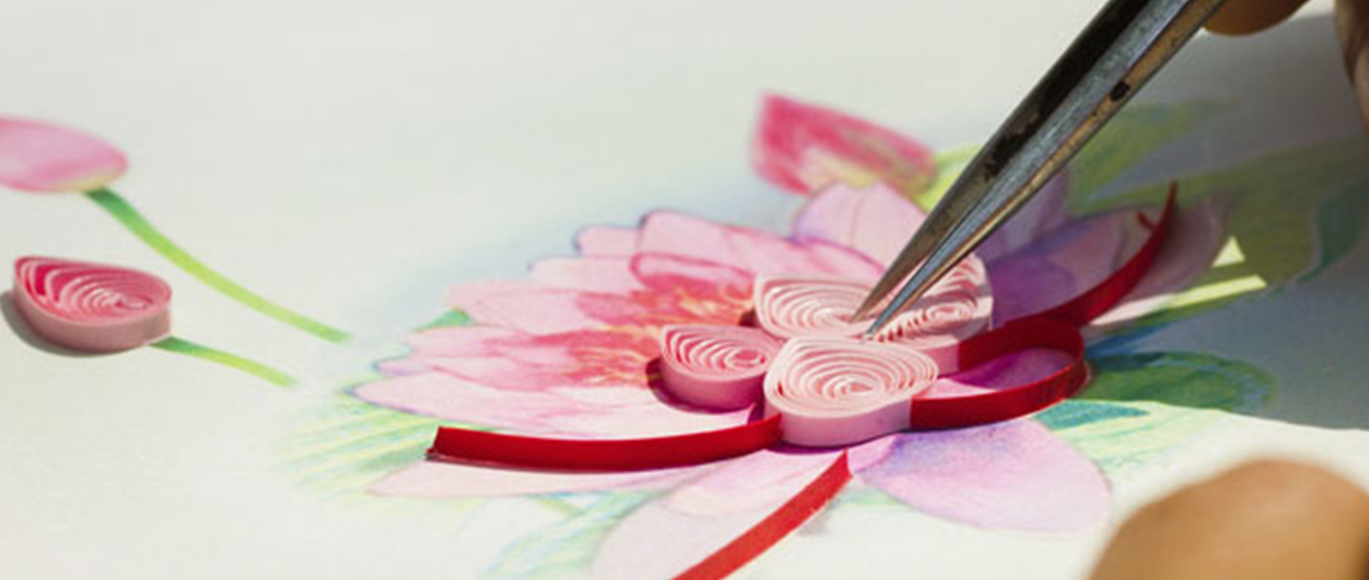 Wholesale quilling cards artwork header